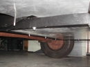old torsion axle with drum brake